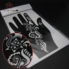 stencil print picture more detailed picture about 2 pair henna