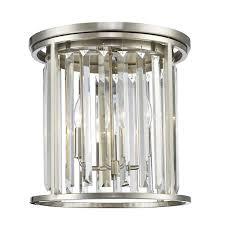 Flush Mount Ceiling Light Shade Midtown Crystal Flushmount Ceiling Light Shades Of Light
