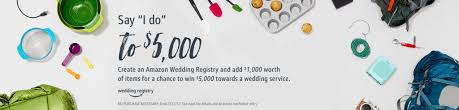 where to do your wedding registry register now for s wedding registry to possibly win 5 000