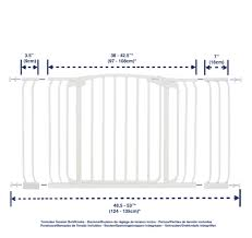 Extra Wide Pressure Mounted Baby Gate Dreambaby Extra Wide Baby Gate 38