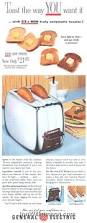 Toasters In The 1920s Apron History A Shiny Vintage Toaster