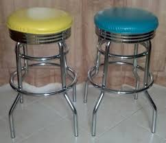 for sale two chrome retro style bar stools just 30 for the
