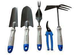 amazon com gardening tools 5 piece garden tool set trowel