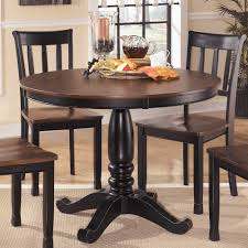 signature design by ashley round dining room table overstock