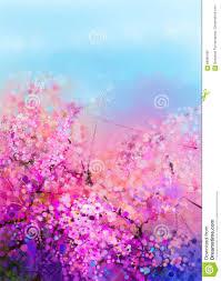 Peinture Cerisier Japonais by Fleurs De Cerisier De Peinture D U0027aquarelle Illustration Stock