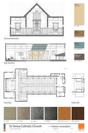 Catholic Church Floor Plans Saint Teresa Catholic Church U2014 Clark Architects Collaborative 3