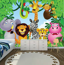 Kid Room Wallpaper by Jungle Kids Wallpaper U2013 Children U0027s Room Design U2013 Fresh Design Pedia