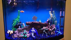 Christmas fish tank decorations