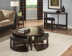 ottoman with 4 stools coffee table with stools love this idea for stools tucked under a