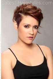 very short edgy haircuts for women with round faces short undercut hairstyle my style pinterest short undercut