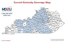 Richmond Ky Map Md2u Services And Locations