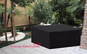 durable fabric for sofa free shipping 320x191x94cm sectional sofa cover black color durable