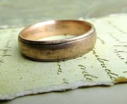 weddings 10k rustic men s wedding ring 10k gold by jcmetalsmithjewelry