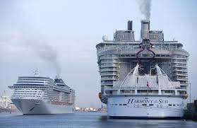 largest cruise ship in the world what u0027s it like being on board the world u0027s biggest cruise ship