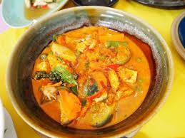 de cuisine thailandaise cuisine thaï recette de légumes poulet au curry petits