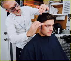 zac efron gets sideburns for u0027the greatest showman u0027 filming