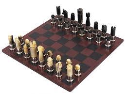 100 mid century modern chess set the art of war exquisite