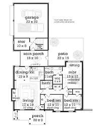 small house floor plans with porches 13 best one story homes images on ranch home plans