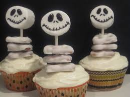 Easy Halloween Cake Decorating Ideas Jack Skellington U0027 Cupcakes And Halloween Decorations Life In