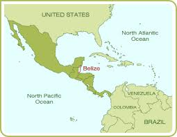 south america map belize belize city belize