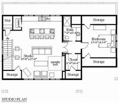 One Car Garage Apartment Plans Second Floor Plan Of Country Garage Plan 58562 With 40 U0027x30