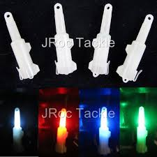 led fish attracting lights 1 pack of 4 nocculescent led flashing light fishing bait lure fish