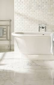 White Marble Bathroom by Beautiful Flats And Carrara On Pinterest