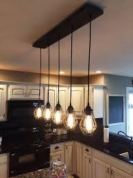 rustic kitchen island lighting wonderful rustic kitchen island light fixtures choosing best