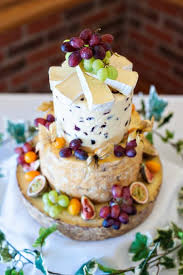 wedding cake of cheese summer cheese cake tower lavender and lovage