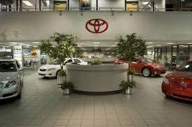 toyota car showroom toyota plans to introduce 10 purely electric vehicles by early 2020s