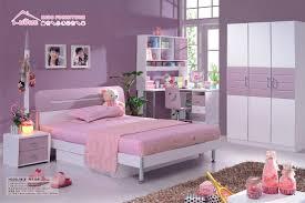 bedroom minimalist purple nuance room with light purple sheet