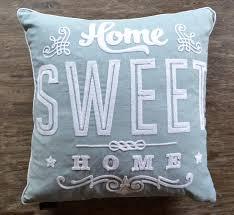 cynthia rowley crochet pillow home sweet home j brulee home