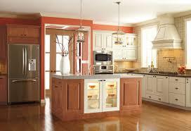 Thomasville Bathroom Cabinets - grimsby maple copper u0026 grimsby maple ecru mojave glaze