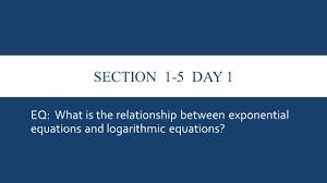 calculus chapter 1 pt 2 unit question what is a logarithmic