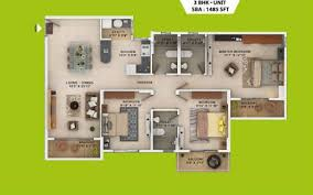 what is the floor plan of salarpuria sattva park cubix blurtit