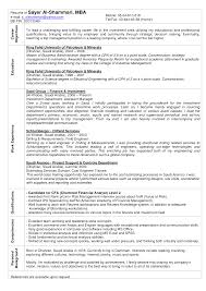 career objective examples for mba freshers job and resume template
