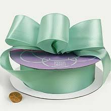 mint green ribbon solid color premium fabric satin ribbon paper mart