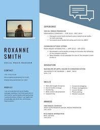 Advertising Resume Modern Resume Template Gfyork Com
