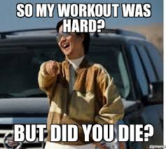 Did You Die Meme - mr chow so my workout was hard but did you die weknowmemes