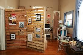 how to make pallet room divider wooden pallet furniture