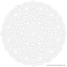 difficult level mandala coloring pages large transparent png