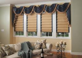 Blinds And Matching Curtains Roller Blinds With Curtains To Match Nrtradiant Com