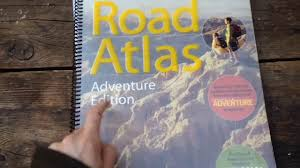 Best Road Trip Map National Geographic Road Atlas Adventure Edition Free Camping