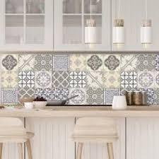 stickers cuisine carrelage 9 stickers carreaux de ciment chêtre et design artistiques
