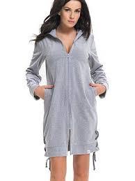 robe de chambre satin couleur szary peignoirs et robes de chambre en coton et satin en