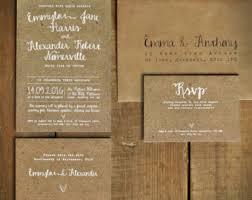 rustic wedding invites rustic wedding invitation etsy