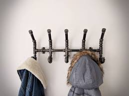 best 25 wall mounted coat rack ideas on pinterest diy coat rack