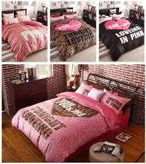victoria pink bedding leopard romantic bedding sets teen bedding