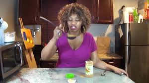 Glozell Challenge The Cinnamon Challenge By Glozell And Big Earrings