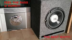 tube amp for home theater how to hook up a car system in your home computer add bass to